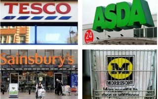 big four uk supermarkets e1425333869764 Could the Big Supermarkets Win You Back?