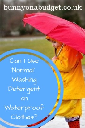 Can I Use Normal Washing Detergent on Waterproof Clothes  e1485388553786 Can I Use Normal Washing Detergent on Waterproof Clothes?