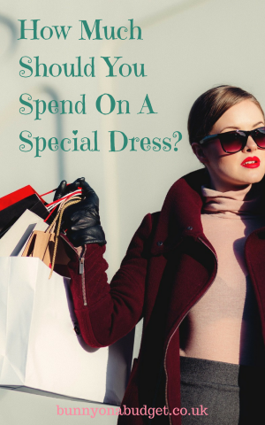 How Much Should You Spend On A Special Dress?