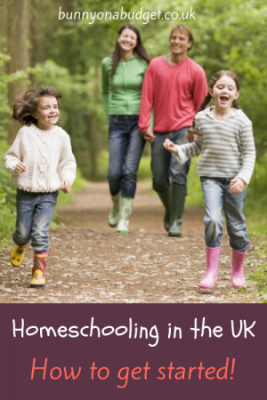 Homeschooling in the UK - How to get started!